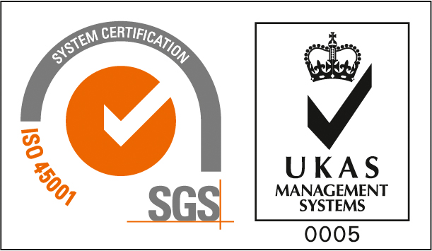 SGS ISO 45001 UKAS TCL LR System Certification